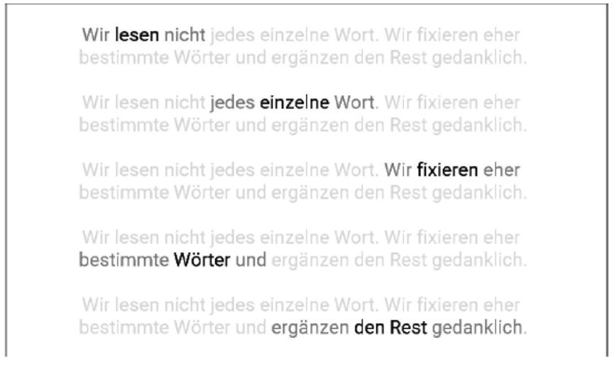 Robert Weller Textbeispiel